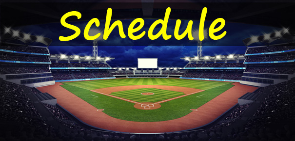 Baseball Schedule Men's Baseball League Florida